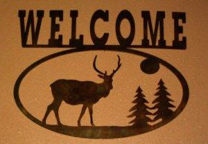 welcome-deer-wall-decor